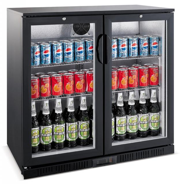 Vitrină frigorifică bar cu două uși LG-208H