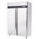 MBF8114 INOX freezer with double door
