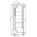 Vitrină frigorifică verticală ECO+445