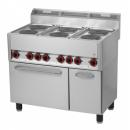 SPT 90 ELS - Electric range with 6 plates and oven
