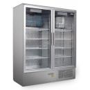 CC 1200 GD INOX (SCH 800 S) - Cooler with double glass doors