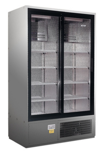 SCH 800/R INOX - Sliding glass door cooler