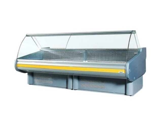 WCHIM 1,3/1,2 - Counter with curved glass (Market line)