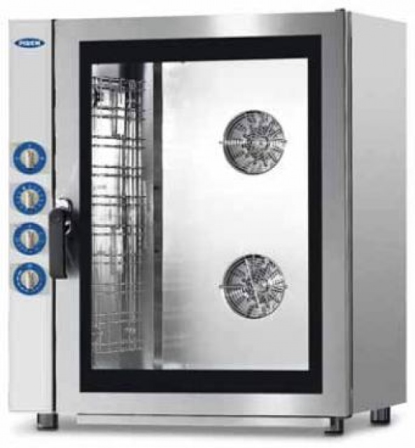 MG940 - Gas powered combi steam oven 10x (600x400) or GN 1/1