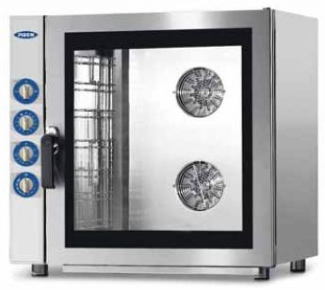 MG937 - Gas powered combi steam oven 7x (600x400) or GN 1/1