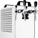 KONTAKT 40/K - Száraz hűtésű, kétkörös sörhűtő beépített légkompresszorral