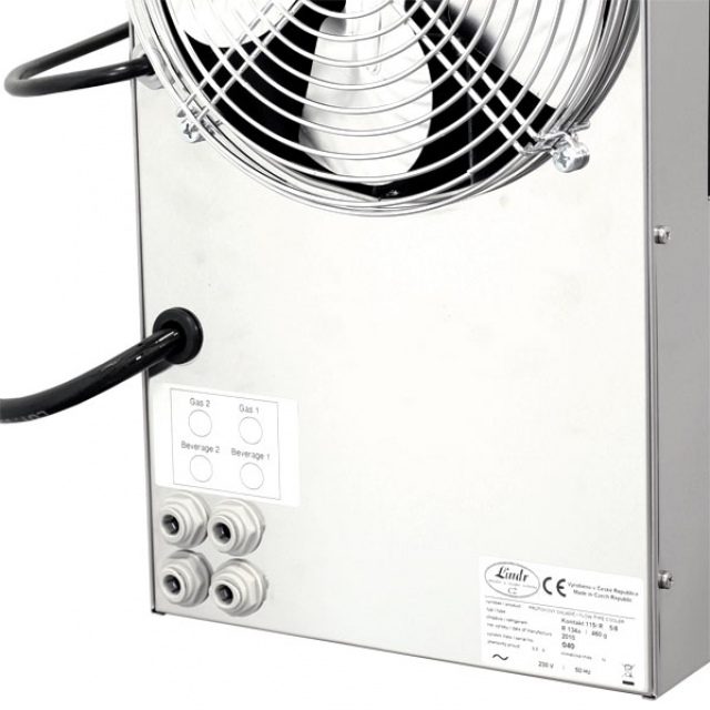 KONTAKT 155/R Dry contact double coiled beer cooler