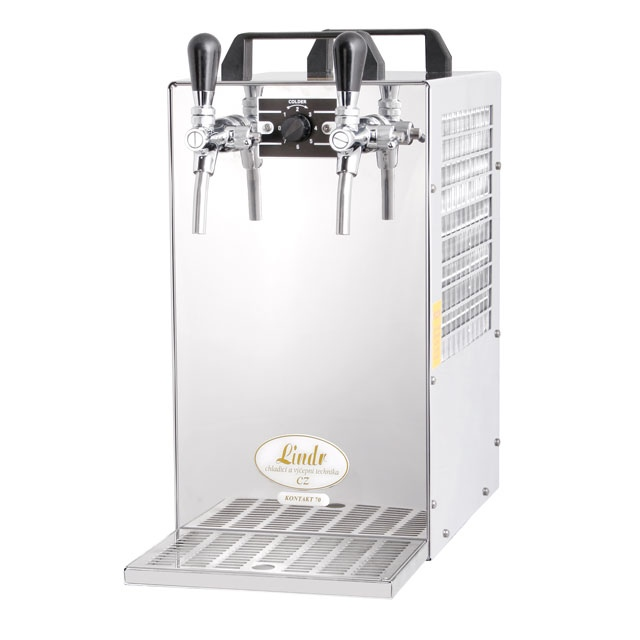 KONTAKT 70 - Dry contact double coiled beer cooler