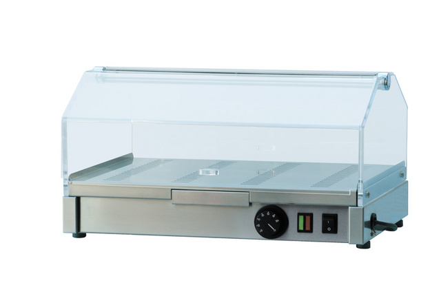 Vitrină de prezentare caldă VEC 510