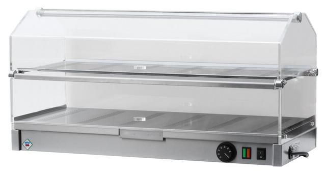 Vitrină de prezentare caldă VEC 820