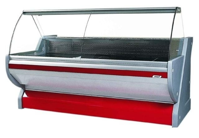 WCH SN 1,3/1,2 - Counter with curved glass