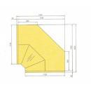 Vitrină frigorifică de colţ interior pentru autoservire 90° | LCD Dorado D NS NW