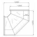 Element de colț interior (90°) NCHGW 1,3/1,1