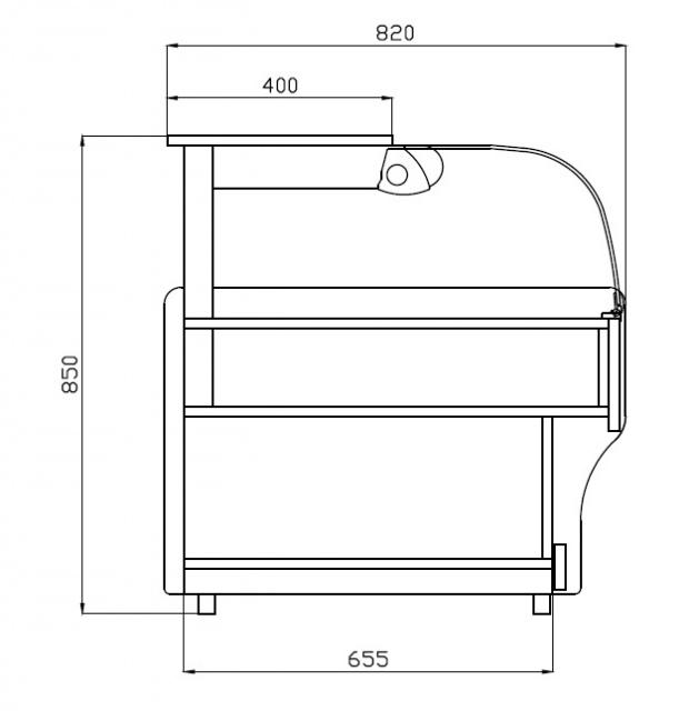 LECN-F 1,0/0,9 Neutral counter element