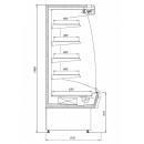 R-1 110/90 MARTINI - Hűtött faliregál