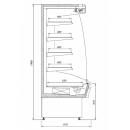 R-1 MR 110/90 MARTINI Refrigerated wall counter