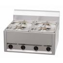 SP-60 GLS - Gas range with 4 burners