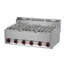 SP-90 GLS - Gas range with 6 burners