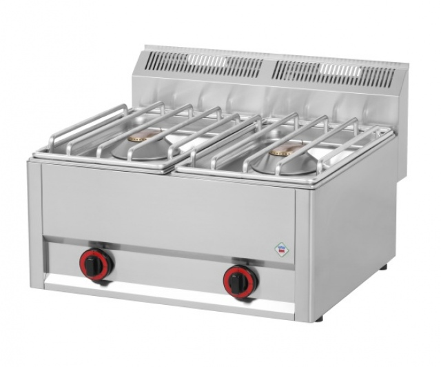 SP 62 GLS - Gas range with 2 burners