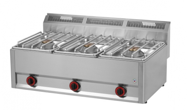 SP 93 GLS - Gas range with 3 burners