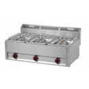 SP-93 GLS - Gas range with 3 burners