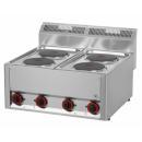 Maşină de gătit electrică cu 4 plite | SP 60 ELS