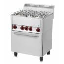 Maşină de gătit cu 4 arzătoare şi cuptor electric | SPT 60 GLS