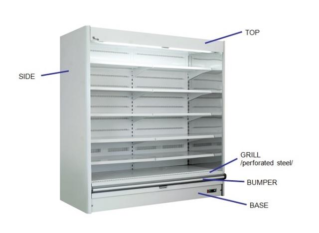 Raft frigorific cu agregat extern R-1 PR 130/80