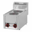 Maşină de gătit electrică cu 2 plite | SP 30 ELS