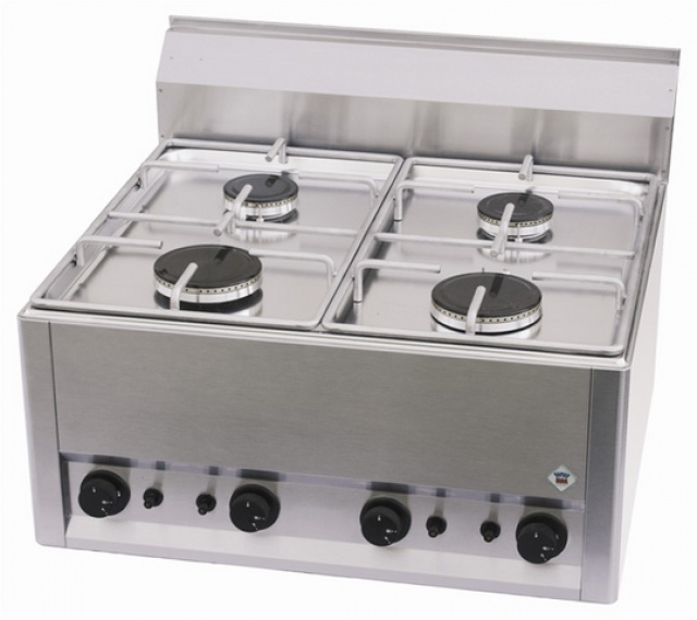 SP-60 GL - Gas range with 4 burners