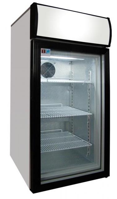 LG-80 - Glass door cooler