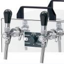Răcitor de bere pe tejghea cu doi robineți KONTAKT 155/K