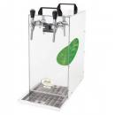 KONTAKT 155/K (Green Line) Dry contact double coiled beer cooler with built-in air compressor