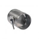 Clapete de reglaj pentru tubulaturi circulare