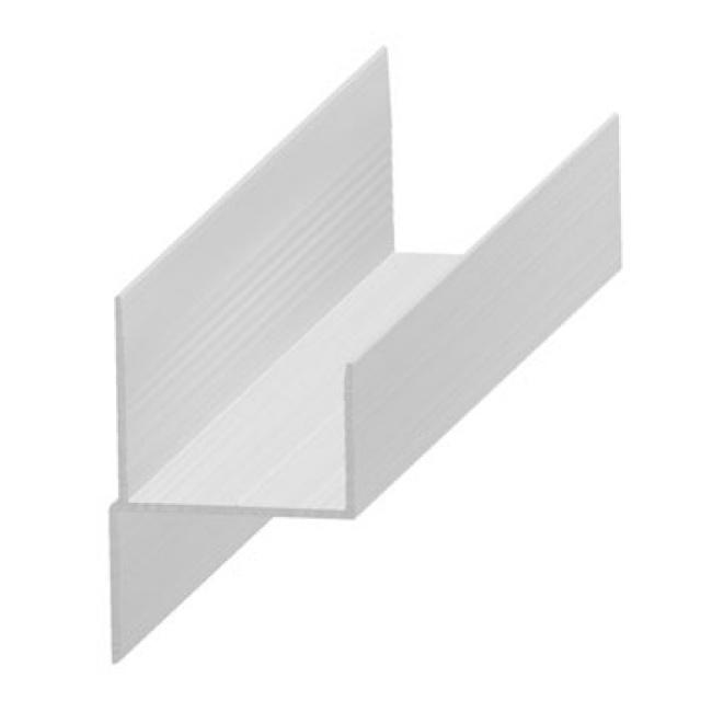Chair (h) profile in aluminium 30 mm