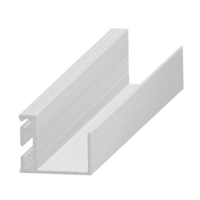 Profil leágazásokhoz - alumínium 20 mm