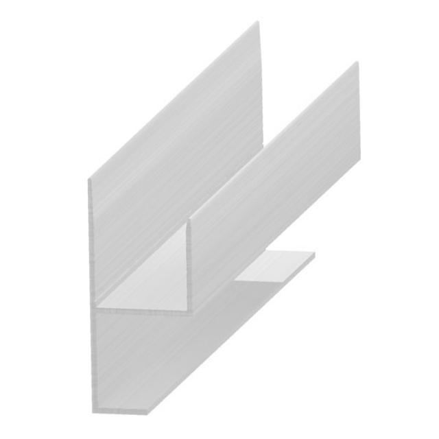 Profil rácshoz - alumínium 20 mm