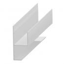 Profil pentru grile ventilaţie, 20 mm, aluminiu
