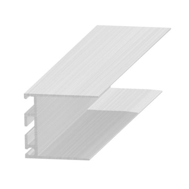 Profil îmbinare ascunsă sau invizibilă, 30 mm, aluminiu