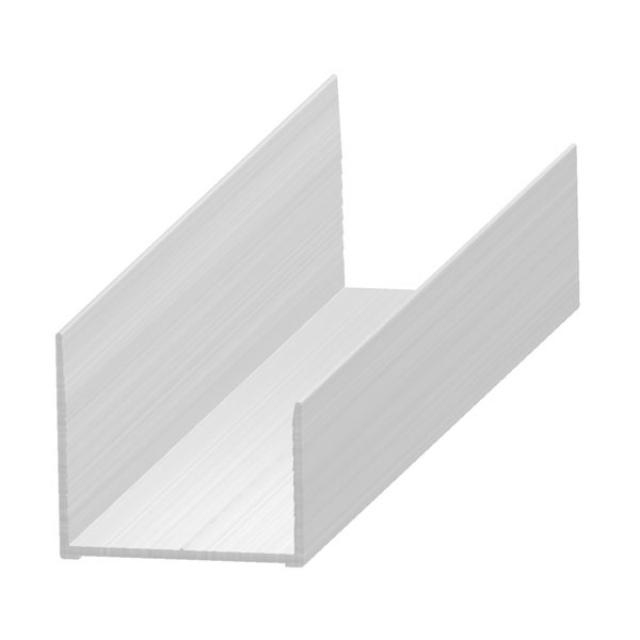 "Hervorragend U"" profil - aluminium 30 mm WH72"