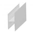 """H"" profil - aluminium 20 mm"