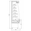 R-1 110/65 MINI MARTINI - Hűtött faliregál