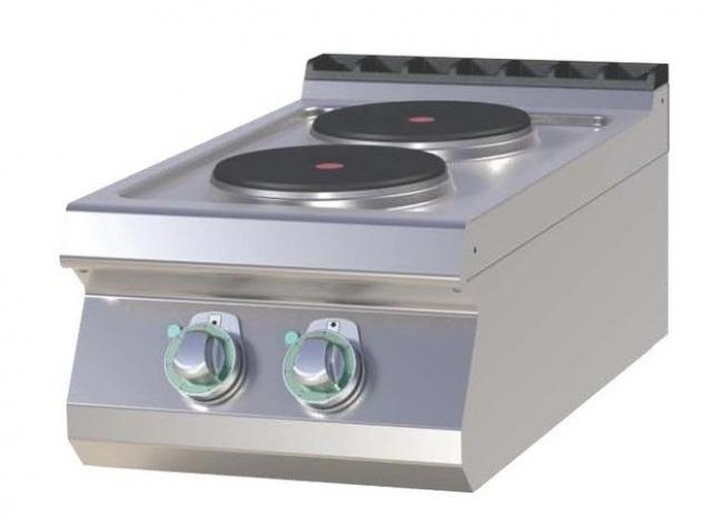 SP-704 E Maşină de gătit electrică cu 2 plite rotunde