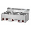 Maşină de gătit electrică cu 5 plite | SP 90/5 ELS