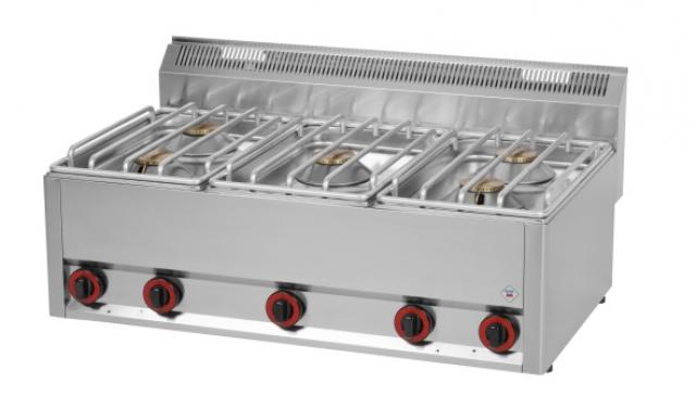 SP-90/5 GLS - 5 égős gáztűzhely