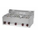 SP-90/5 GLS - Maşină de gătit pe gaz cu 5 arzătoare