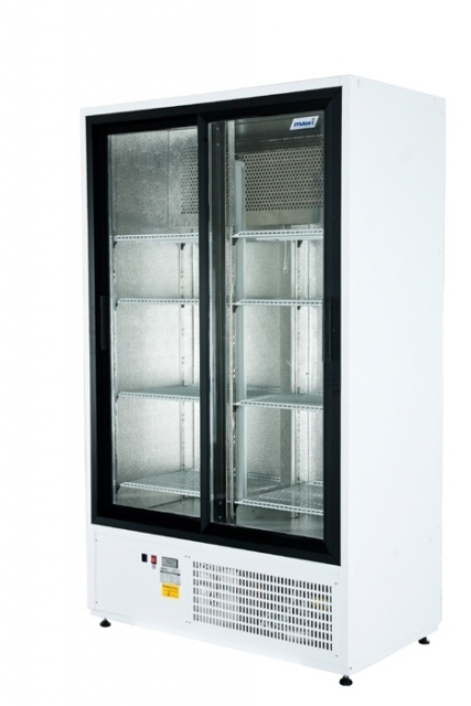 Vitrină frigorifică verticală cu uși glisante CC 1200 SGD (SCH 800R)