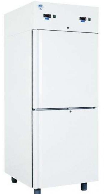 COMBI CF 700 - Kétlégterű teleajtós hűtőszekrény