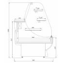 Vitrină  frigorifică de cofetărie și patiserie C-1 130/100 NG