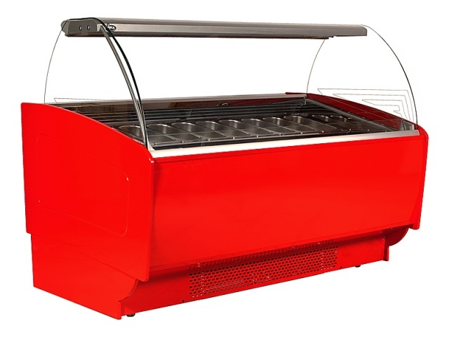 K-1 SR 10 SORBETTI - Ice cream counter for 10 flavours